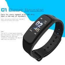 <b>C1</b> Smart Band <b>Smart Bracelet Fitness</b> Tracker Waterproof Heart ...