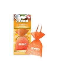 <b>Автомобильный ароматизатор</b> PEARLS, Coconut, Кокос <b>Areon</b> ...