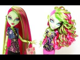 How to <b>Curl</b> Your <b>Dolls Hair</b> - YouTube