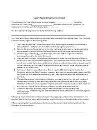 lawn care contract template templates in pdf word excel lawn care contract template 2 templates in pdf word excel
