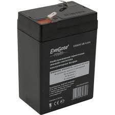 Аккумулятор для ИБП <b>6V</b> 4.5Ah <b>Exegate</b> EXG645 — купить, цена и ...