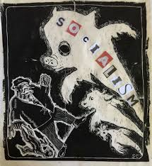 socialism and animal liberation a necessary synthesis animal socialist animals woodcut copy sue coe 2016 courtesy of gallerie st etienne