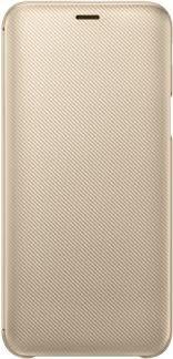<b>Чехол</b>-книжка <b>Samsung Galaxy</b> J6 <b>Wallet Cover</b> Gold (EF ...
