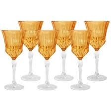 <b>Набор из 6 бокалов</b> для вина «Адажио - янтарная» 200 мл ...