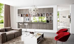 living room magnificent modern open floor interior beautiful nice design kitchen space divider with red seat beautiful open living room