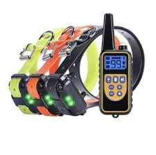 Waterproof 100% <b>800m Pet</b> Electronic Rechargeable Remote Anti ...