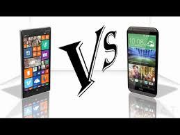 Nokia Lumia 830 Vs HTC Desire 820 - YouTube