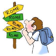Risultati immagini per tutte le strade portano a roma