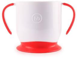 Купить <b>Чашка Happy</b> Baby на присоске (15022) ruby по низкой ...