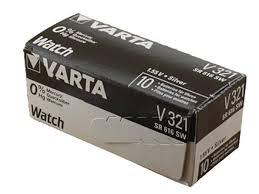 <b>Батарейка 321 Varta</b> SR616SW 10BOX - Чижик