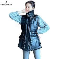 <b>PinkyIsBlack 2020 Women</b> Sleeveless Vest Winter Warm Plus Size ...