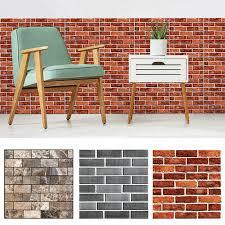 <b>Wall Sticker Tile</b> Brick <b>Self</b>-<b>adhesive Mosaic Kitchen</b> Bathroom ...