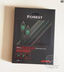 Обзор <b>Audioquest</b> OptiLink <b>Forest</b> - Вива-Телеком