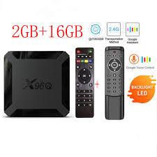 <b>2021 X96Q</b> Android 10.0 Smart <b>TV</b> BOX Allwinner H313 Quad Core ...