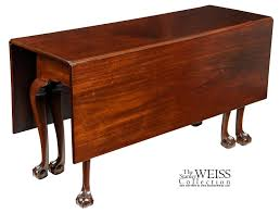 Chippendale Dining Room Table A Mahogany Chippendale 6 Leg Claw And Ball Drop Leaf Dining Table