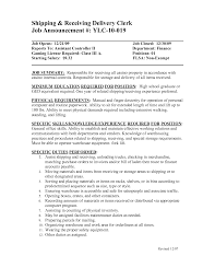 shipping and receiving resume getessay biz shipping and receiving manager s general objective for shipping and receiving