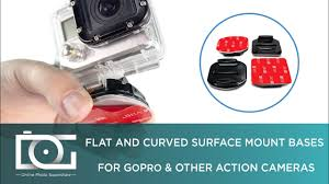 SURFACE MOUNT <b>GOPRO</b> | How To Use a <b>Flat and Curved</b> ...