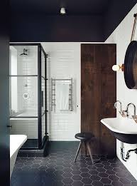 dwell bathroom ideas renovated montreal bathroom with black and white ceragres tiles middot bathroom dwellbathroom ideastiled
