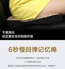 <b>KKYSYELVA Memory Foam Lumbar</b> Support Cushion For Car And ...