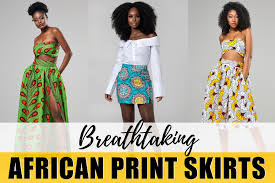 23 Hottest <b>African</b> Print <b>Skirts for Women</b> in 2019 & Where to Get them