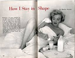 Marilyn Monroe's Top Shelf | Into The Gloss