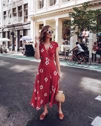 women dress summer floral overlap spaghetti strap half sleeves print beach plus size