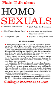 1950 s gays 1950 s lesbians gay history 1950 s homosexuality 1950 naive talk about gays pageant magazine 1959
