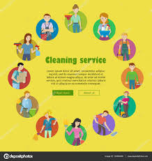 cleaning service icon set stock vector © robuart 133950400 cleaning service round icon set man and w cleaning equipment and detergent house cleaning service professional office cleaning home cleaning