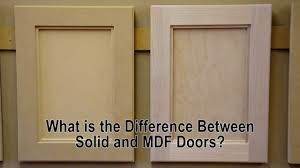 Paint Grade Cabinets What Is The Difference Between Solid Wood And Mdf Cabinet Doors
