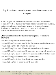 advertising account manager resume marketing manager resume resume    top  business development coordinator resume samples    resume objective   business development