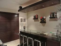 awesome dark brown white wood stainless unique design home bar wonderful glass simple ideas wall racks home decor awesome home bar decor small