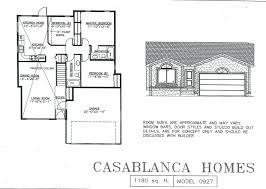 Casablanca Homes   House PlansModel   A