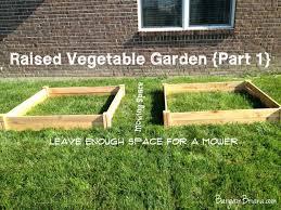 Small Picture Raised Bed Garden Design Martha Stewart The Garden Inspirations