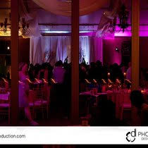 desi production bay area uplighting at the morgan creek golf course in roseville bay area uplighting wedding
