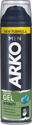 Arko Men <b>Гель для бритья Hydrate</b> 200мл 80053505, код ...