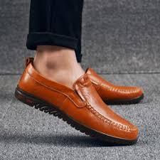 Men Shoes Genuine Leather Comfortable Men Casual Shoes ... - Vova