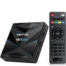 VIBOTON <b>HK1 Super</b> Android <b>TV</b> Box 9.0 OS 4GB RAM 32GB ROM ...