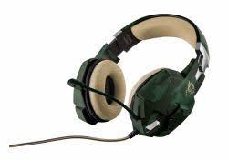 <b>Trust 20865</b> - <b>Trust GXT 322C</b> Headset Head-band Green