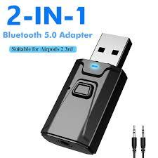<b>Leehur USB Bluetooth</b> Adapter Receiver Audio 3.5MM AUX ...