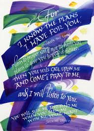 Image result for clipart for Jeremiah 29:11