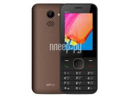 <b>Сотовый телефон BQ 2438</b> ART L+ Brown