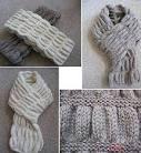 Детские шарфики связанные схемы
