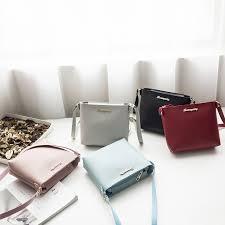 Brand New <b>Autumn Fashion Women's</b> Sling Bag <b>Korean</b> Pure Color ...