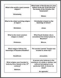essay questions world war i and world war on pinterest world religions question cards   with free printable game board and instructions grades
