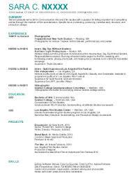 entertainment and media resume examples  amp  samples   livecareersara n    film resume   guilford  connecticut