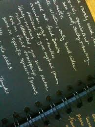 teaching writing online the world remains mysterious mysterious silver writing on black paper