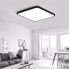 30W <b>Modern</b> Dimming <b>LED</b> Ceiling Light Surface Mount Lamp with ...