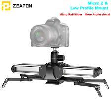 Рельсовый <b>слайдер Zeapon Micro 2</b> из алюминиевого сплава ...