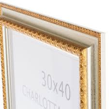 <b>Рамка</b> Charlotta <b>30х40 см</b> пластик цвет золото в Санкт-Петербурге