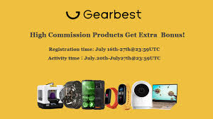 High Commission Products -Earn Extra Bonus!!! - GearBest ...
